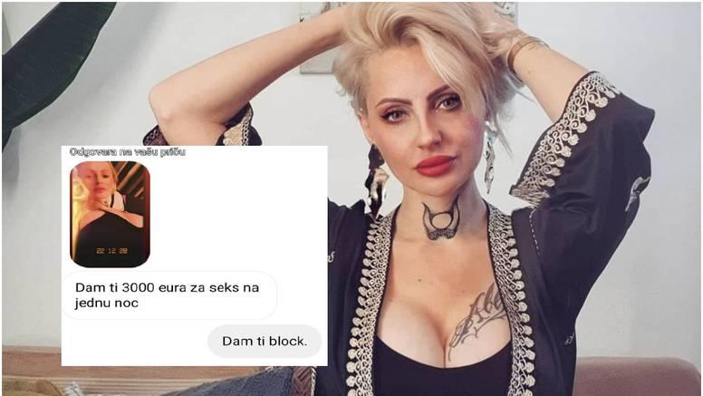 Alex Ognjenoj nude 3000 eura za jednu noć: 'Objavit ću vam imena da vam žene sve vide!'
