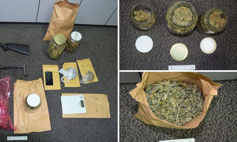 Pretresli kuću u Gorici i našli laboratorij marihuane i oružje