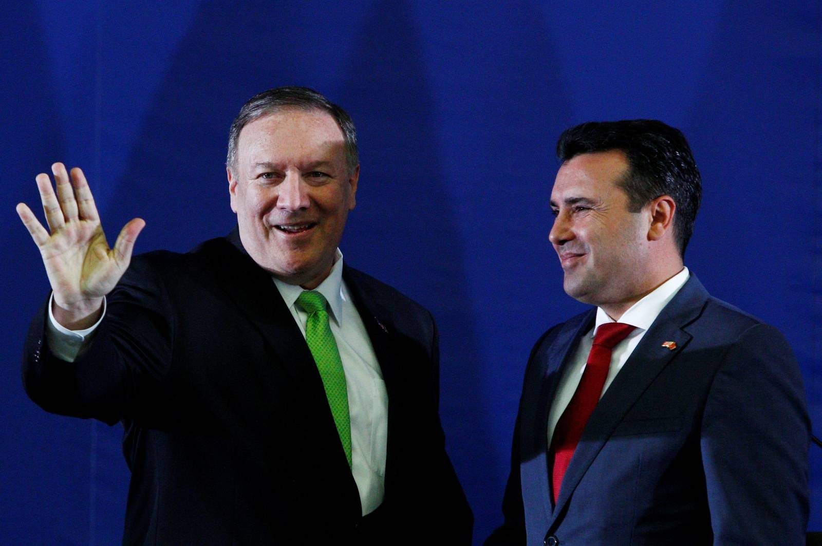 U.S. Secretary of State Mike Pompeo visits North Macedonia