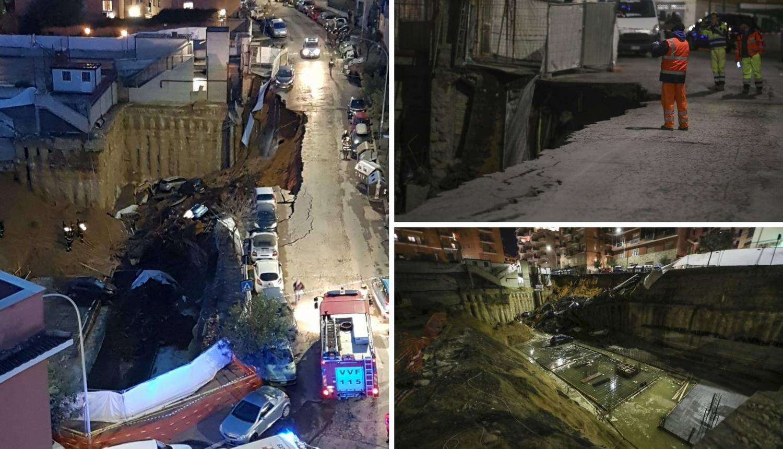 Ogromna rupa progutala aute: Morali su evakuirati 22 obitelji