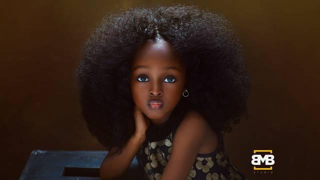 Je li ona  najljepša djevojčica na svijetu? Djeluje nestvarno...