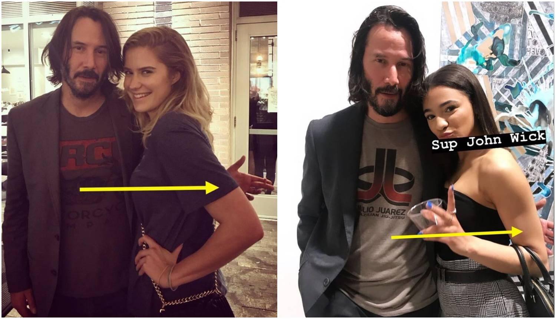 Glumac Keanu Reeves ne dira žene s kojima se fotografira...