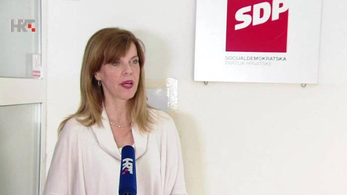 'Neću biti predsjednica SDP-a, to je mjesto za one koji su se dokazali sad na ovim izborima'