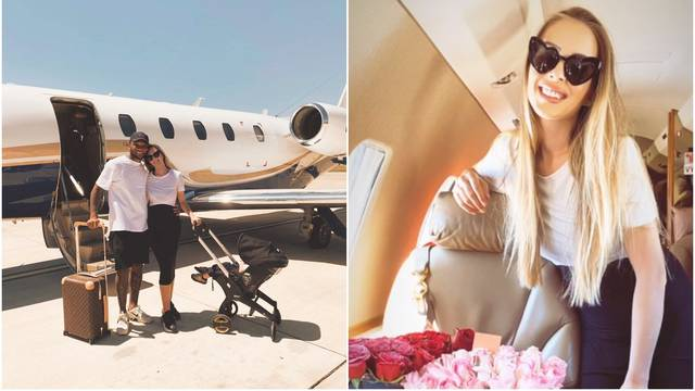 Žena bivšeg dinamovca hvali se krpicama i privatnim letom