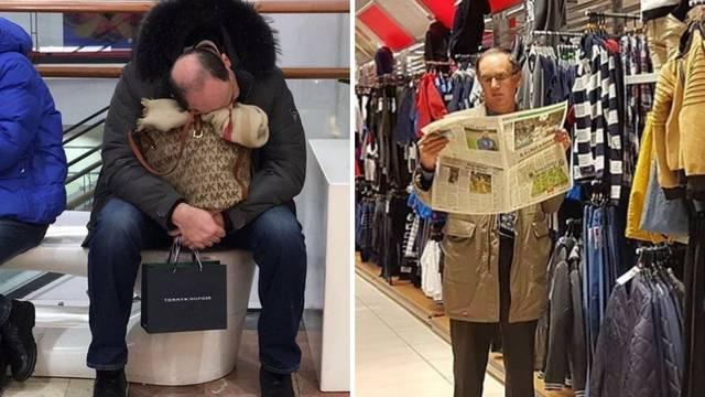 'Jadno muško': Evo kako većina njih izgledaju dok žene kupuju