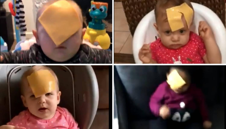 To je novi  izazov na internetu: Kriške sire bacaju - djeci u lice