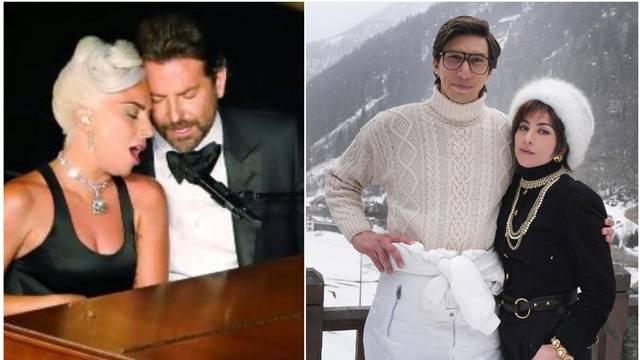 Lady GaGu ponovno povezuju s romansom za vrijeme snimanja, Coopera zamijenio Adam Driver