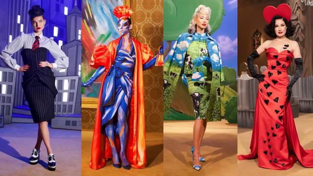 Moschino donosi show likova: Od prugastog odijela do safarija