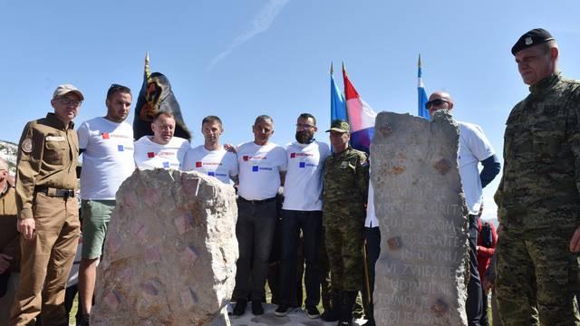 Dinara: Svečano otkrivanje Spomenika Domovini na 1656 metara nadmorske visine