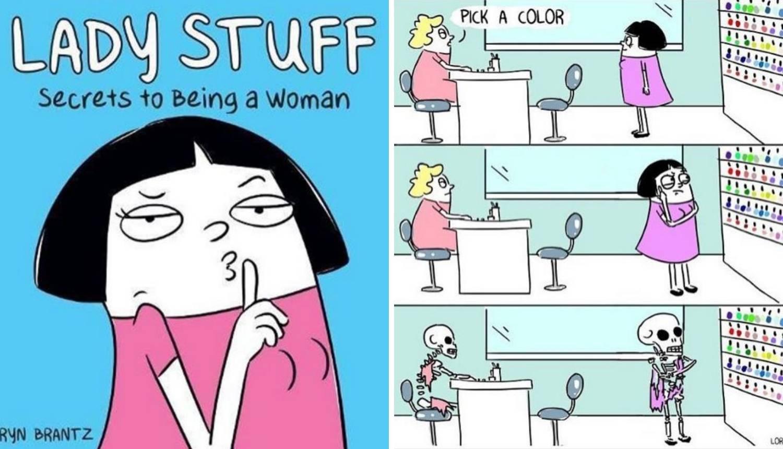 Umjetnica otkrila kako je biti žena komičnim ilustracijama