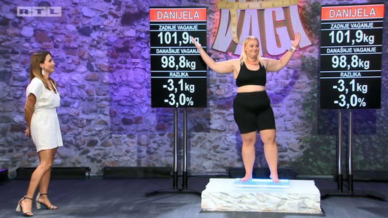 Ispao najteži kandidat, Danijela prva pala ispod sto kilograma...