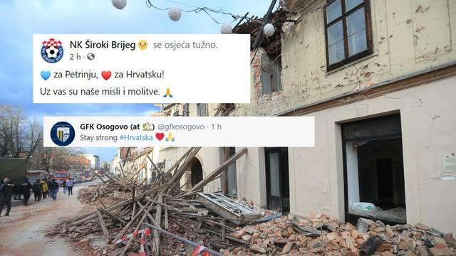 Podrška stiže iz Sj. Makedonije: Hrvati, budite jaki! Javili se i Budućnost, Bešiktaš, Zrinjski...
