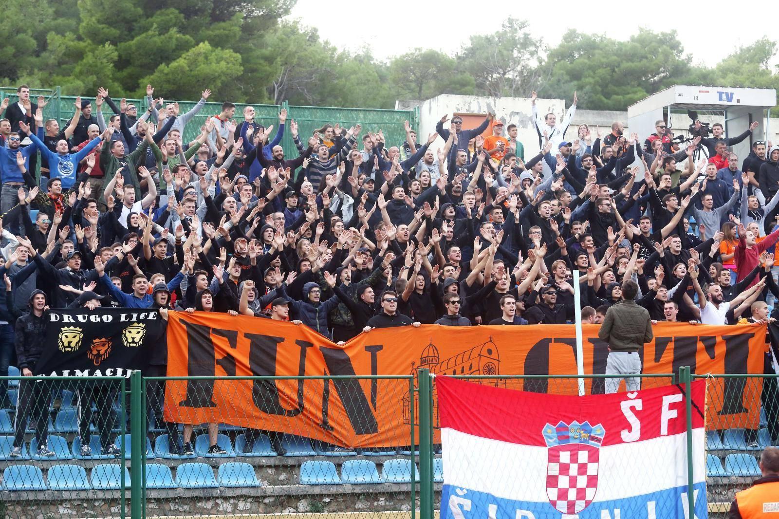 Šibenik: 1/8 finala hrvatskog nogometnog kupa, HNK Šibenik - HNK Hajduk