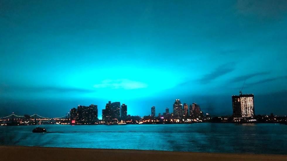 Noćno nebo je postalo plavo: 'Mislio sam da je kraj svijeta...'
