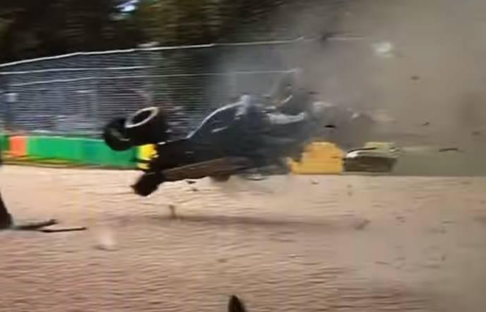 N. Rosberg slavio u Australiji, stravična nesreća F. Alonsa...