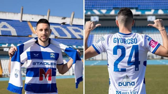 Osijek predstavio Gyurcsa: Ovo je bolje za mene od Hajduka, tamo bih preselio u B momčad...