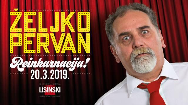Željko Pervan u Lisinskom: Od jednog do čak tri nastupa