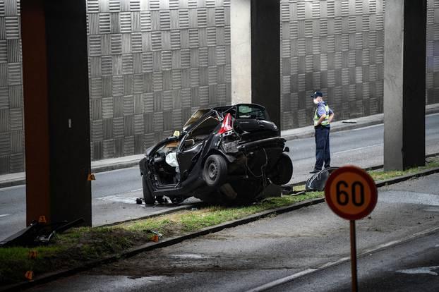 Zagreb: Prometna nesreća sa smrtnom posljedicom na aleji Bolonje