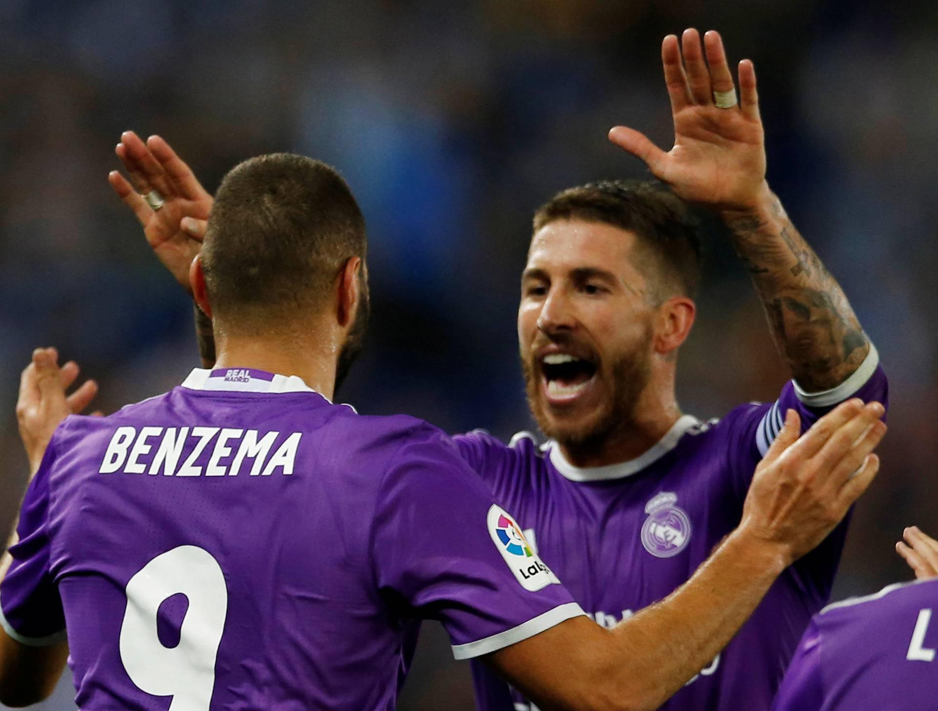 Football Soccer - Espanyol v Real MadridAlaves - Spanish La Liga Santander - Camp Nou stadium
