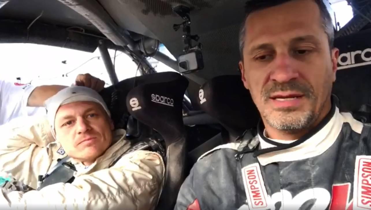 Šaškin: Završit ćemo Dakar pa makar gurali automobil do cilja