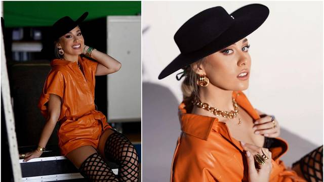 Albinu u zavodljivom izdanju komentirali sa službenog profila Eurosonga: 'Vidimo se uskoro'