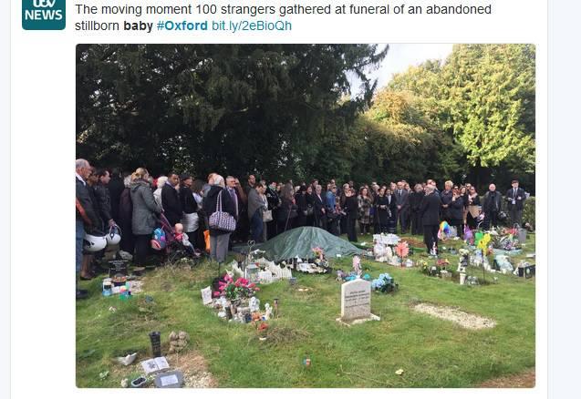 Pokopana beba koja nije imala obitelj: 'Mirno spavaj, curice...'
