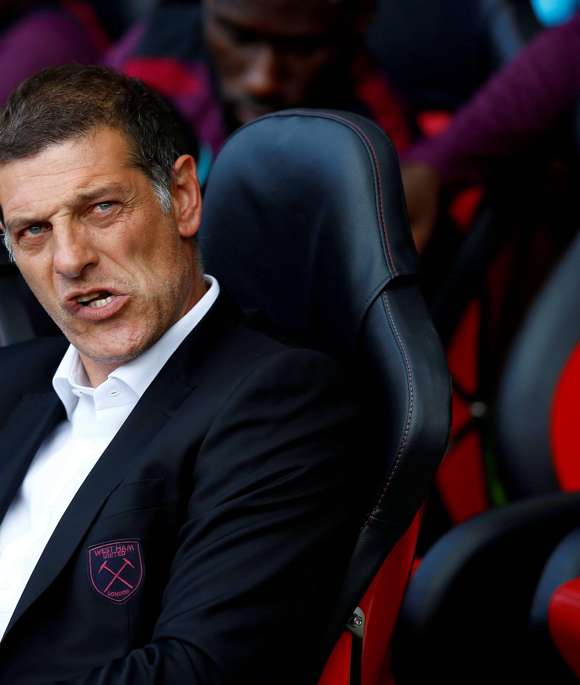 Premier League - Southampton vs West Ham United