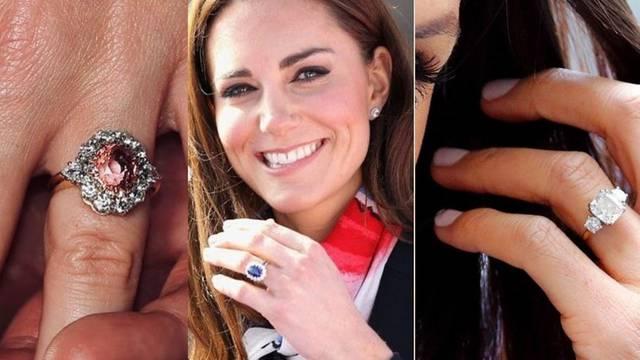 Kate, Meghan, Eugenie, Zara: Glamurozno zaručničko prstenje članica kraljevskih obitelji