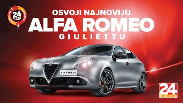"""Pročitaj pravila nagradne igre """"Osvoji Alfu Romeo Giulietta"""""""