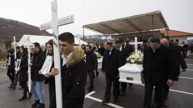 Rakitno: Posljedni ispraćaj šestero mladih koji su poginuli u novogodišnjoj noći