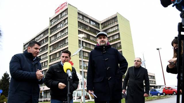 Koprivnica: Čelnici Mosta ispred Podravke održali konferenciju za medije