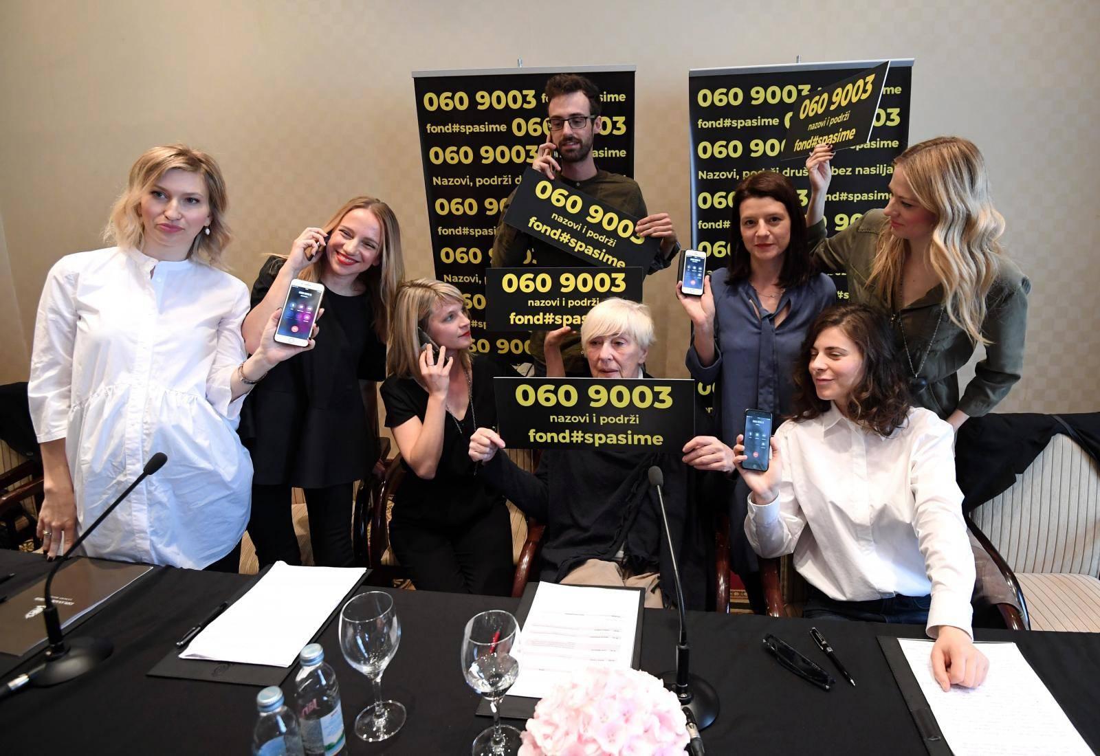 Zagreb:  Konferencija za medije  inicijative Spasi me