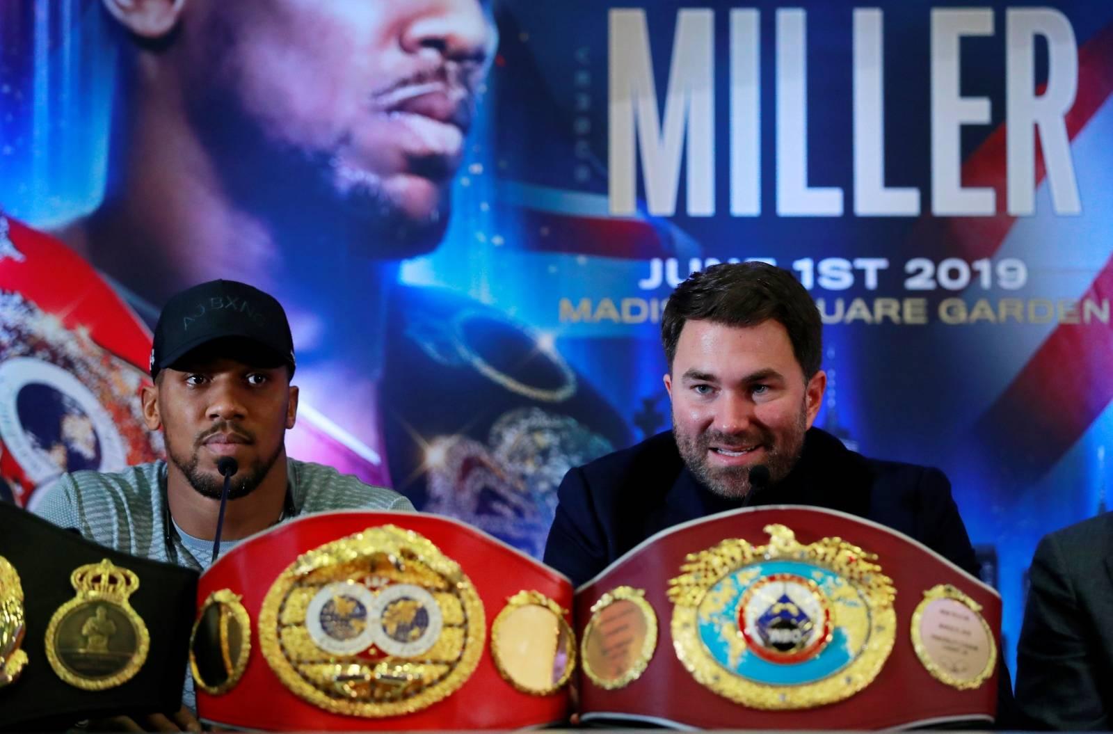 Anthony Joshua & Jarrell Miller Press Conference