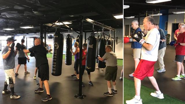 Udaraju kao prvaci: Oboljeli od Parkinsa boksaju i vježbaju...