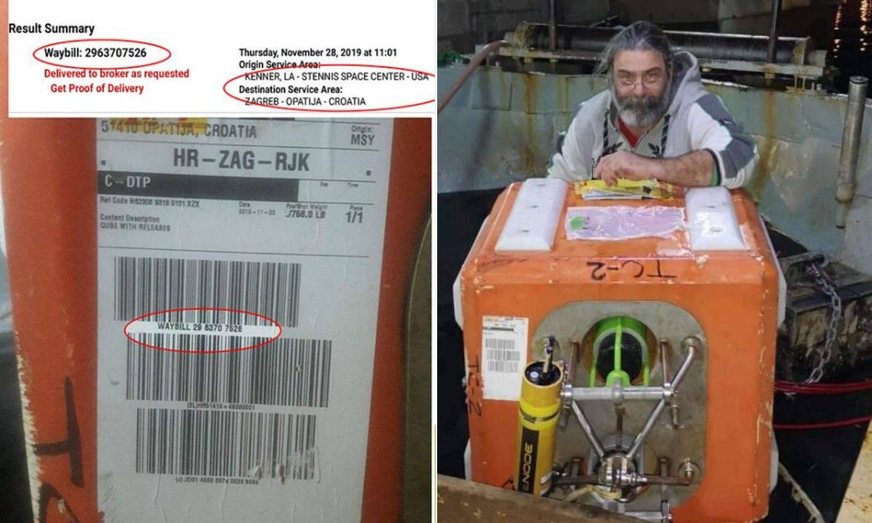 Ribar izvukao uređaj NASA-e: 'Ne dam ga dok ne plate štetu!'