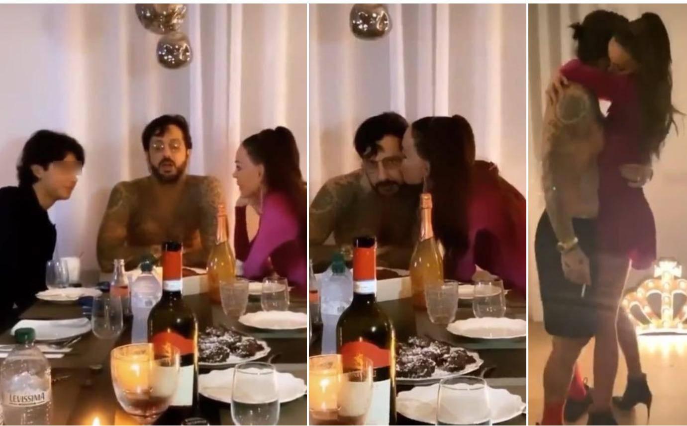 Corona party: Nina Morić ljubi bivšeg muža, dovela mu i sina