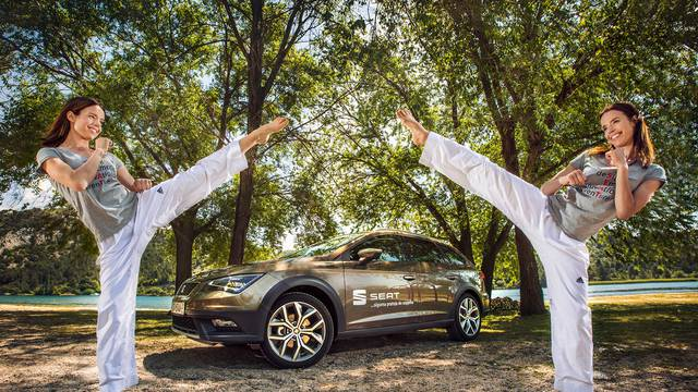 Ana i Lucija Zaninović, naše olimpijke, odabrale SEAT