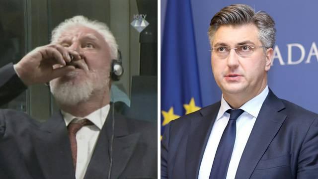'Plenković je prvi čelnik u EU  koji je podržao ratnog zločinca'