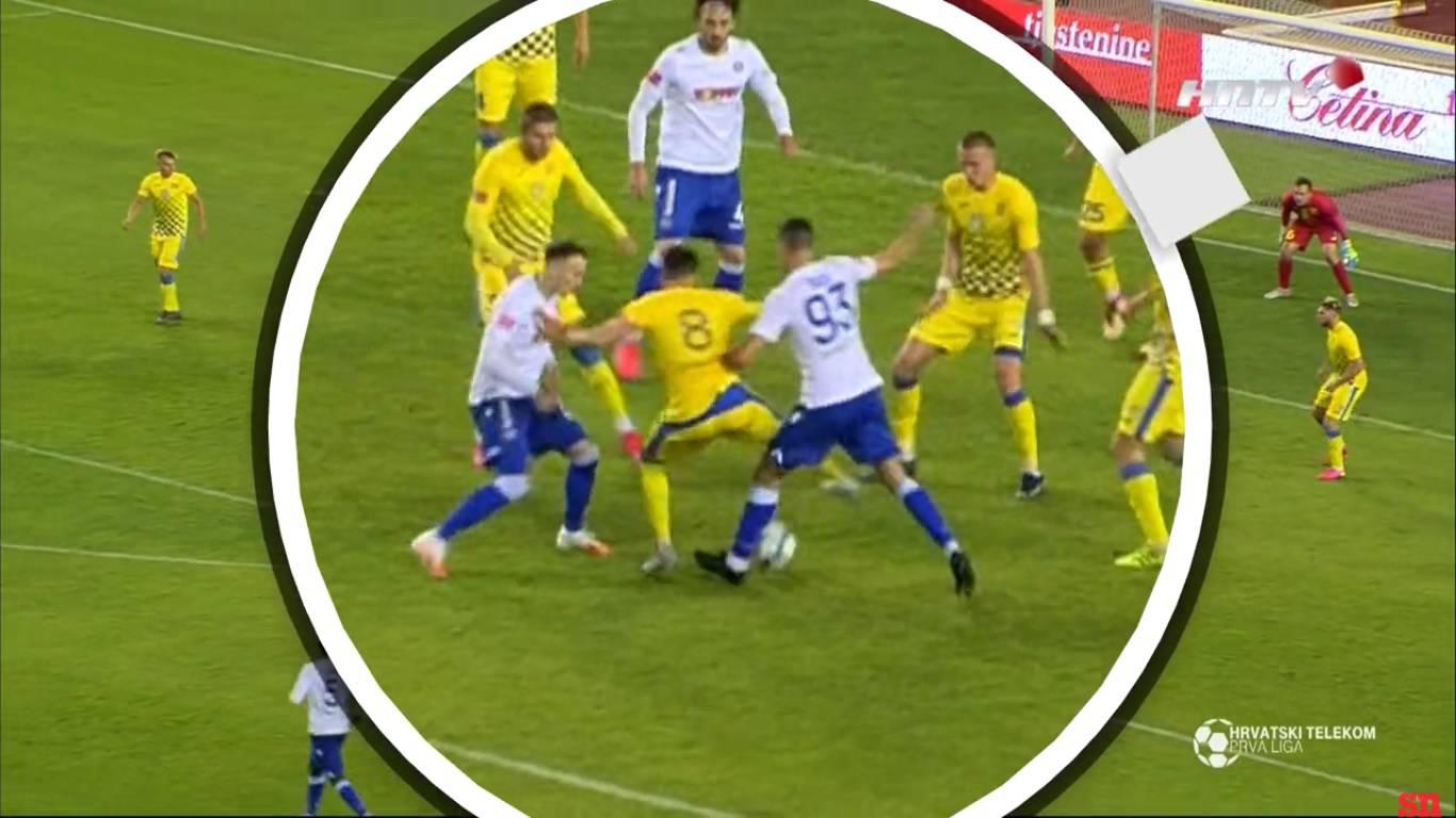 Dva eksperta i dva mišljenja: 'Nije bilo faula kod Hajdukovog pobjedničkog gola  protiv Intera'