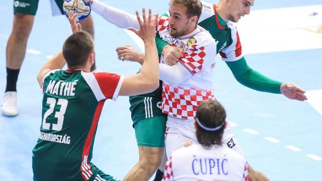 Osijek: Kvalifikacijska utakmica za EHF kup, Hrvatska - Mađarska