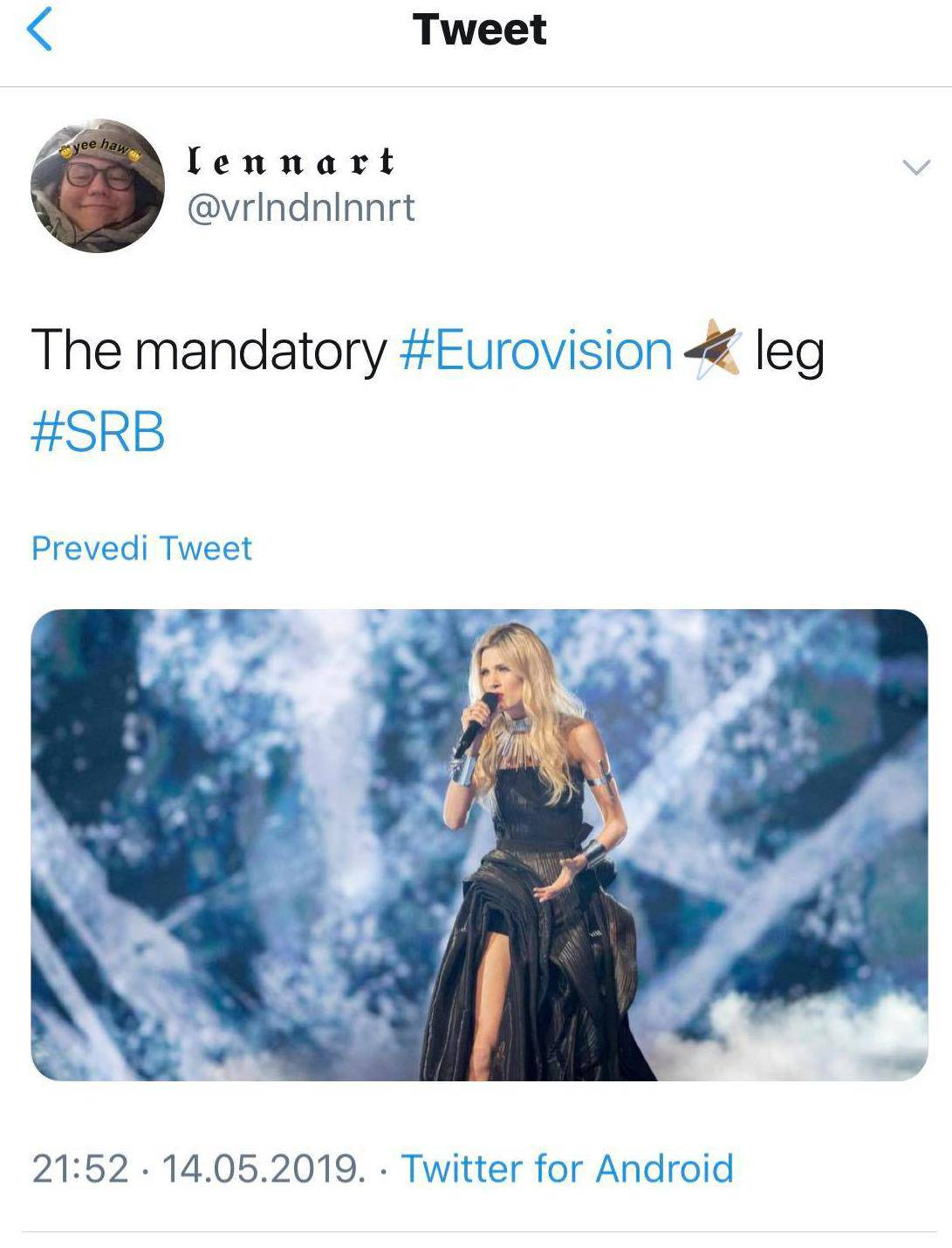 Srpsku predstavnicu sprdali da je izbacila nogu poput Angeline