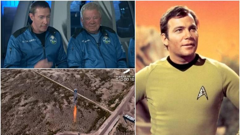 Kapetan Kirk (90) uspješno  se vratio na Zemlju: Postao je najstariji astronaut u svemiru