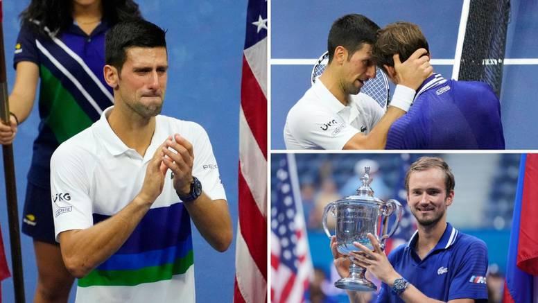 VIDEO Novak u suzama: Nikad se nisam ovako osjećao! Daniil odgovorio: Ti si najveći ikada