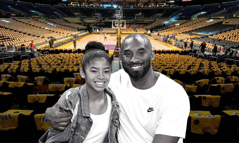 Svijet će stati: Komemoracija Kobeju i Gigi u njihovu domu...