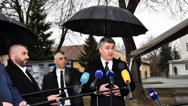 Požega: Zoran Milanović i Mario Banožić na svečanoj prisegi ročnika