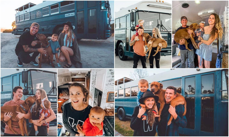 Autobus od 17 m2 su pretvorili u divan dom i putuju svijetom