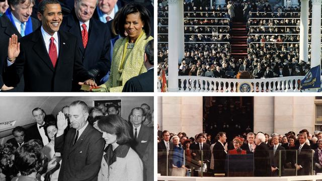 Inauguracije pune drama: Od požara, prisega u avionu, do govora pred pustim Kapitolom