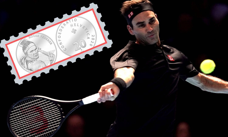 Federer je prvi živući Švicarac sa svojim likom na novčanici...