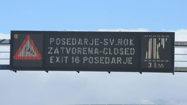 Olujna bura zatvorila dio A1, problema ima i na magistrali