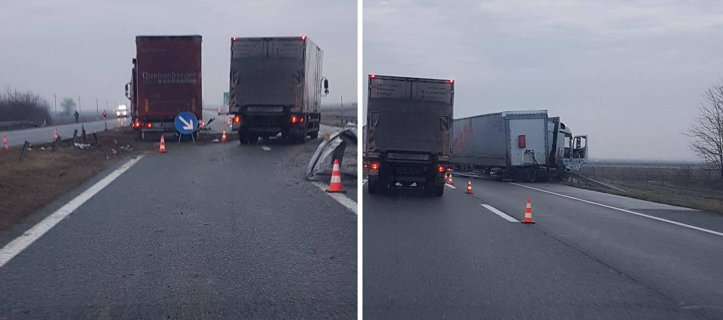Vozači u bolnici: Kamion probio ogradu, drugi izbjegao sudar...